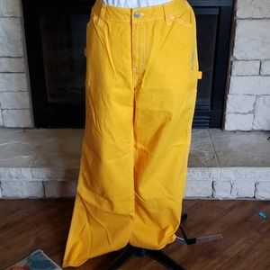 Dickies Jrs carpenter pant yellow size 16
